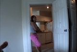 Hot Girlfriend Fucks And Sucks In Kitchen